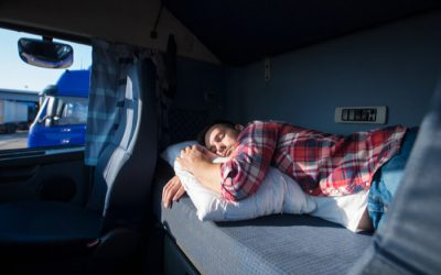 Four Tips For Better Sleep In Your Truck